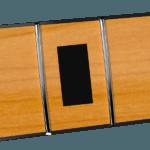 38,1mm Vintage Maple & Black Blocks Neck
