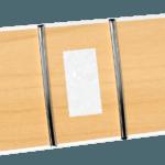 38,1mm Natural Maple & Pearl Blocks Neck