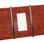 38,1mm Black Locust & Pearl Blocks Neck