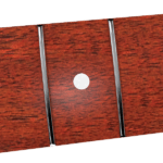 38,1mm Black Locust & White Dots Neck