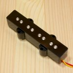 BITE 1000mV Single Coil Bridge Pickup Plain Black