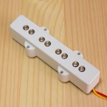 BITE 1000mV Single Coil Bridge Pickup Plain White