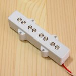 BITE 1000mV Single Coil Neck Pickup Plain White