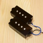 BITE 1000mV Split Coil Pickup Plain Black