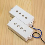 BITE 1000mV Split Coil Pickup Plain White