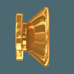 2 Gold Vintage Pins