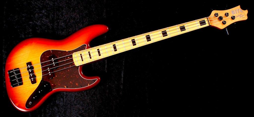 Cherry Burst Reverse Jawbone PJ